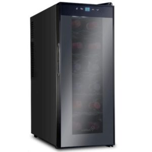 Ivation 12 Bottle Red And White Wine Cooler