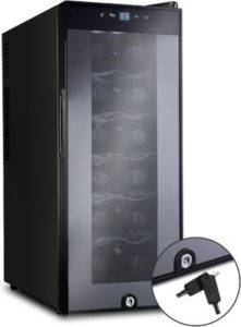 Ivation 12 Bottle Thermoelectric Wine Cooler Chiller