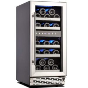 Phiestina 15 Inch Dual Zone Wine Cooler
