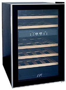 Sunpentown Dual Zone Thermoelectric Wine Cooler