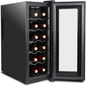 Super Deal 12 Bottle Thermoelectric Wine Cooler