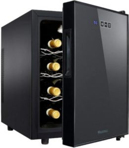 Wine Enthusiast 12-Bottle Compact Wine Cooler