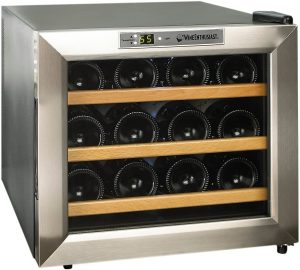 Wine Enthusiast 12-Bottle Wine Cooler