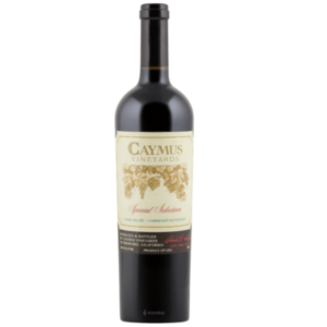 Caymus Special Selection Cabernet Sauvignon Best Wines for Thanksgiving